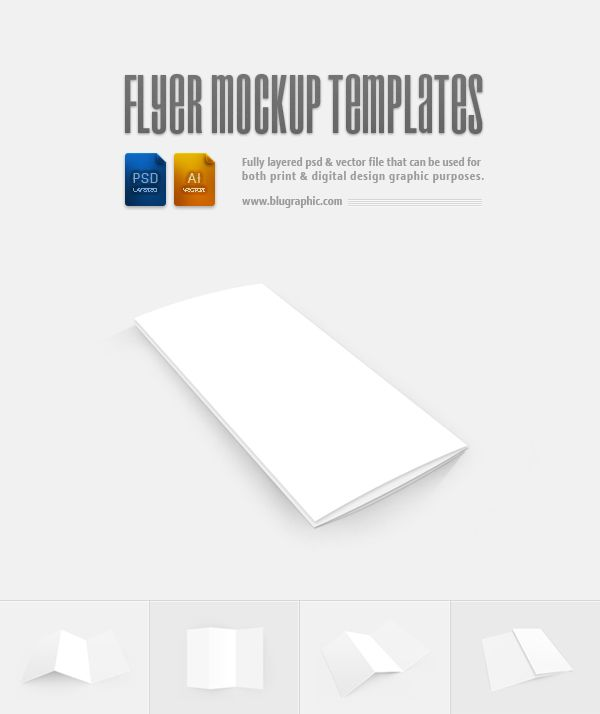 Blank flyer templates psd tutorials freebies pinterest for Blank templates for flyers