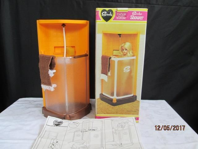 VINTAGE 1970'S SINDY DOLL SHOWER UNIT COMPLETE AND WORKING - BOXED TG/1 | eBay