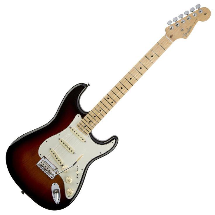 Fender American Standard Stratocaster with Maple Fingerboard - 3 Color Sunburst