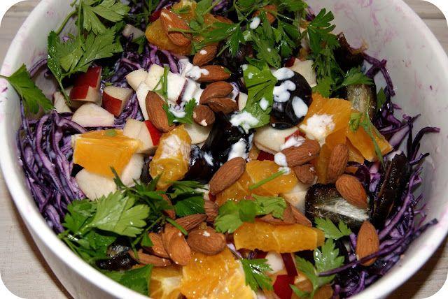 Skarntyden og lupinen: Rødkålsalat