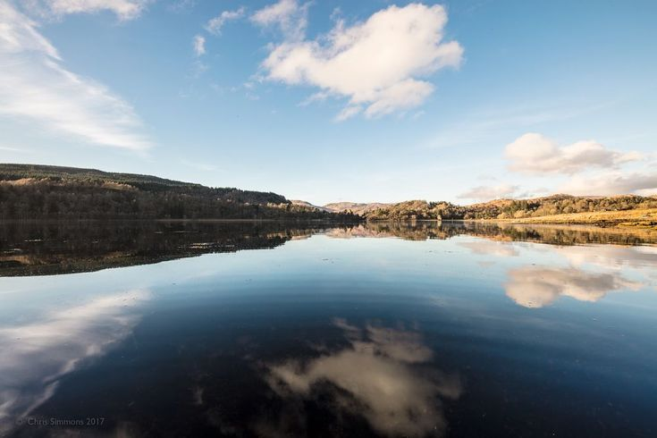 Loch Aline Spring Reflections by Chris Simmons Photography