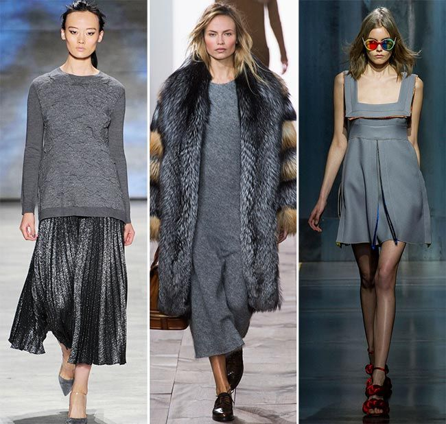 Fall/ Winter 2015-2016 Color Trends: Stormy Weather Gray