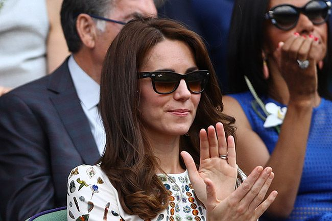 Kate does summer chic in patterned dress for Wimbledon final - Picture 3