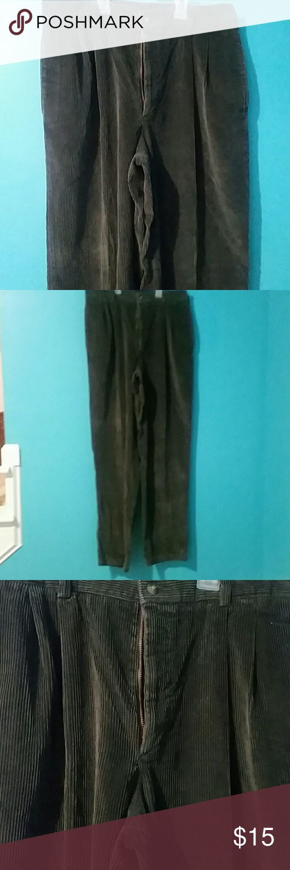 Corduroy Slacks Never worn, perfect for coming winter weather Savane Pants Corduroy