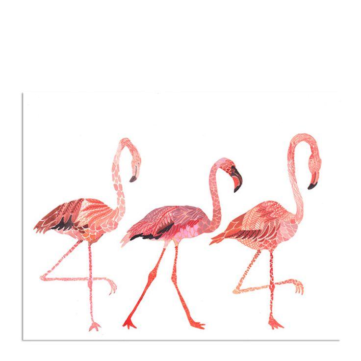 Cute Flamingo Print! | Pink long legged beauty.... | Pinterest