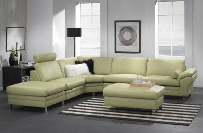 Multibygg couch corner sofa green danish design hjort knudsenspriped carpet www.helsetmobler.no
