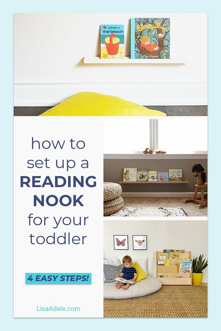 Reading Nook Ideas For Toddlers Toddler Reading Nooks Reading