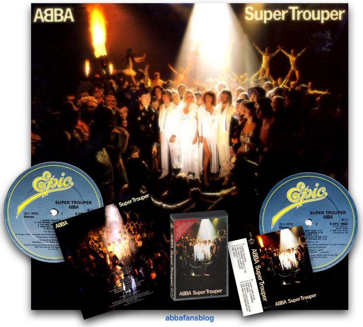"Today in 1980 Abba's ""Super Trouper"" album entered the UK charts at number 1 #Abba #Agnetha #Frida #Vinyl http://abbafansblog.blogspot.com/2015/11/abba-date-22nd-november-1980.html"