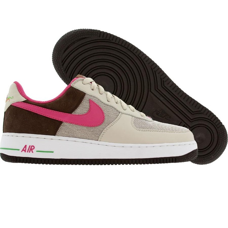 315115 116 Nike Air Force 1 Womens White Rave Pink nike air griffey max 1nike huarache ultraluxurious Collection