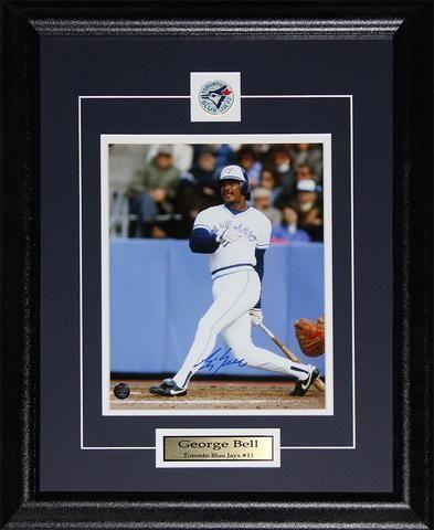 George Bell Toronto Blue Jays 8x10 photo framed $69.99 plus tax