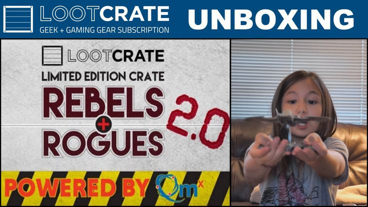 Cute Loot - Limited Edition Loot Crate -  Rebels and Rogues 2 0