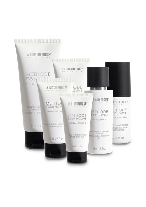 The complete LA BIOSTHETIQUE Mens range! Tried the shower gel and shaving balm so far and I love both! .......NEXT!!