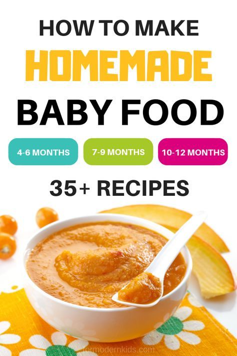 Stage 1, 2 and 3 Homemade Baby Food Recipes and Step-By-Step Guide – Eat & Drink