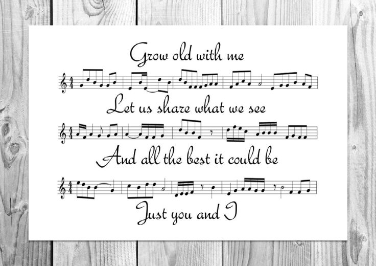 Tom Odell - Grow Old With Me - Unique Song Sheet Art Poster by FUNKYartINC on Etsy https://www.etsy.com/listing/266759764/tom-odell-grow-old-with-me-unique-song