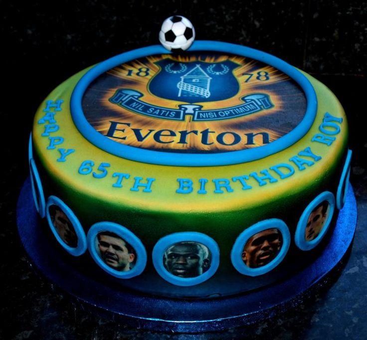 Everton Cake Designs