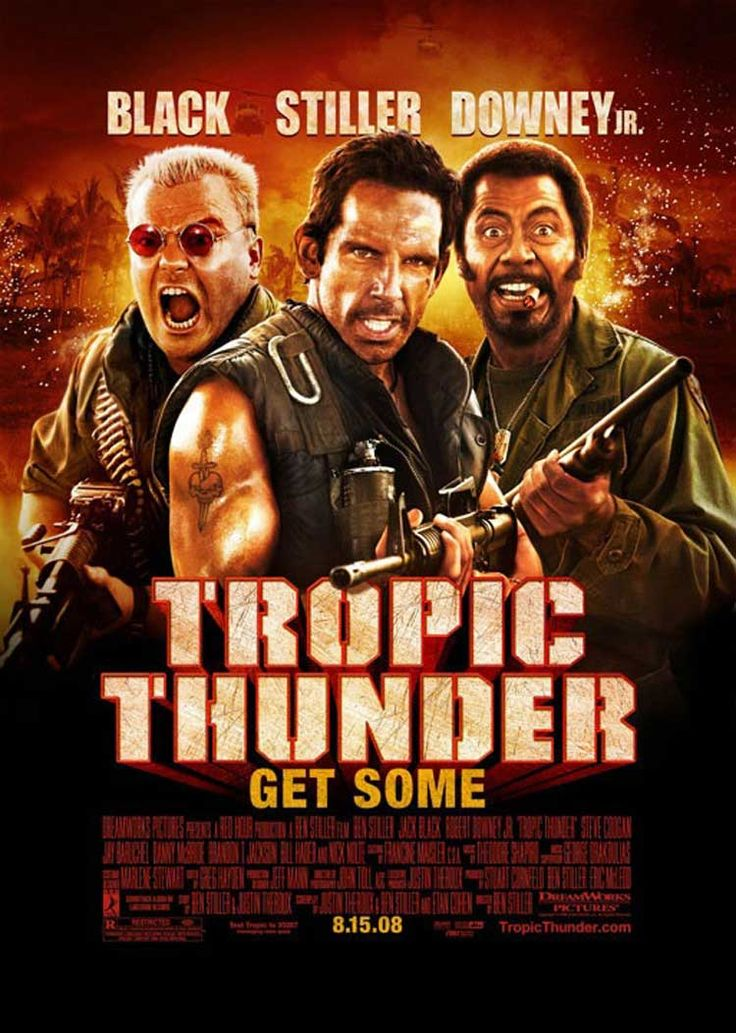 Tropic Thunder | Film & Cinema Posters | Pinterest