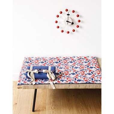Art for Kids kinderdeken/-tapijt Diertjes - 100x100 cm | Leen Bakker