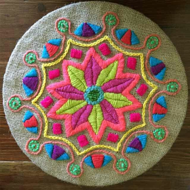 Mandala bordado