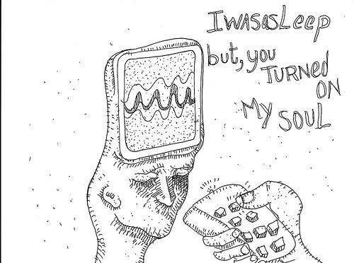 i_was_asleep. Drawing. Sketch