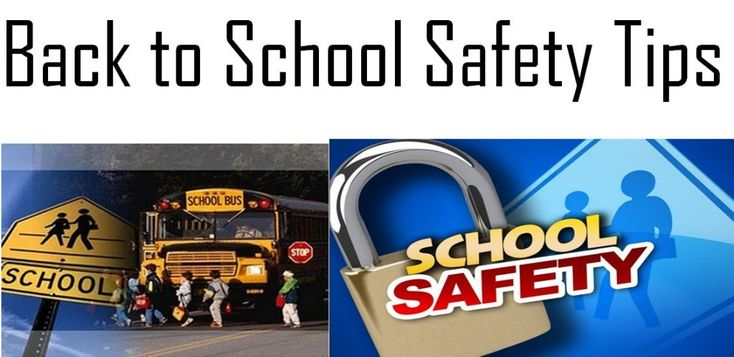 5 great back to school safety tips for back to school season!
