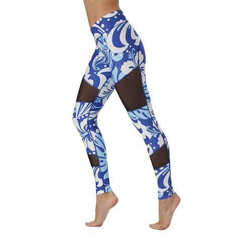 Tikiboo Hawaiian Blue Mesh Leggings £36.99 www.tikiboo.co.uk
