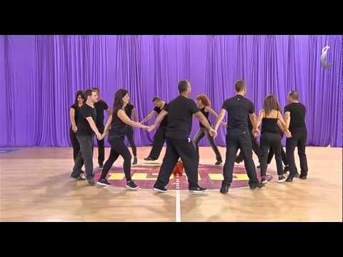 Tzadik Ka'Tamar - IFD Israeli folk dancing for beginners - YouTube