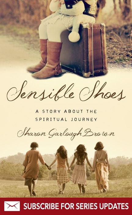 """""""Let your fears do the hard work of revealing deep truths about yourself. Our fears can be windows into the raw and unvarnished truth of our lives."""" —""""Sensible Shoes""""  Subscribe for updates on forthcoming books in the series!"""