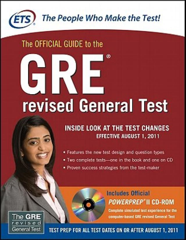 The 6 Best Books to Get You Ready for the GRE: Best GRE Book #4: The Official Guide to the GRE Revised General Test