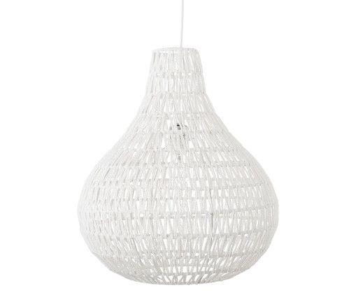 Sorgen Sie für angenehmes Ambiente und lassen Sie die Pendelleuchte CABLE DROP von Zuiver in Ihrem Wohnbereich oder im Schlafzimmer für attraktive Beleuchtung sorgen. Der Lampenschirm sorgt mit dem filigranen Geflecht aus Schnüren für ein dekoratives Highlight.