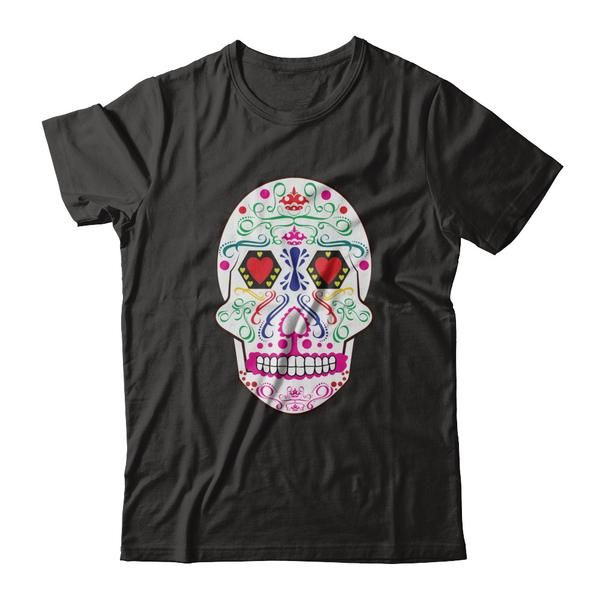 Men and Women s Skull T Shirt Funny Cool for Summer Custome