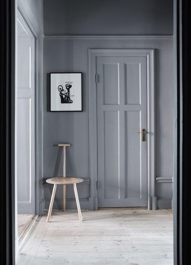 Grey interior hallway - Roomed