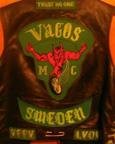 Charles falco vagos mc patch