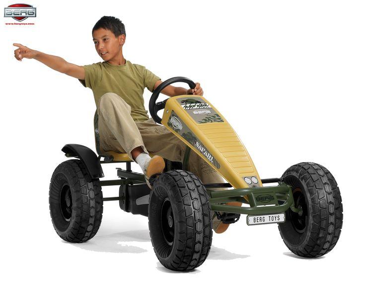 pedal cart | ... : Home  Shop  Products  BERG Safari AF – Pedal Go-Kart 03.74.32