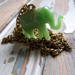 16 best jade elephant necklace images on pinterest elephant jade elephant necklace its beautiful aloadofball Gallery