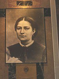 "María Celia Guérin  (Marie-Azélie ""Zélie"" Guérin) (Saint-Denis-sur-Sarthon  Orne, 23 de diciembre de 1831 - 1877) fue la madre de Santa Teresa del Niño Jesús,  declarada santa por la Iglesia católica."