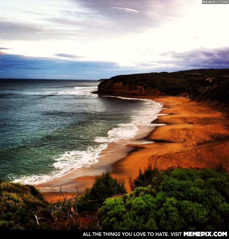 Bells Beach, Australia.I would love to go see this place one day.Please check out my website thanks. www.photopix.co.nz