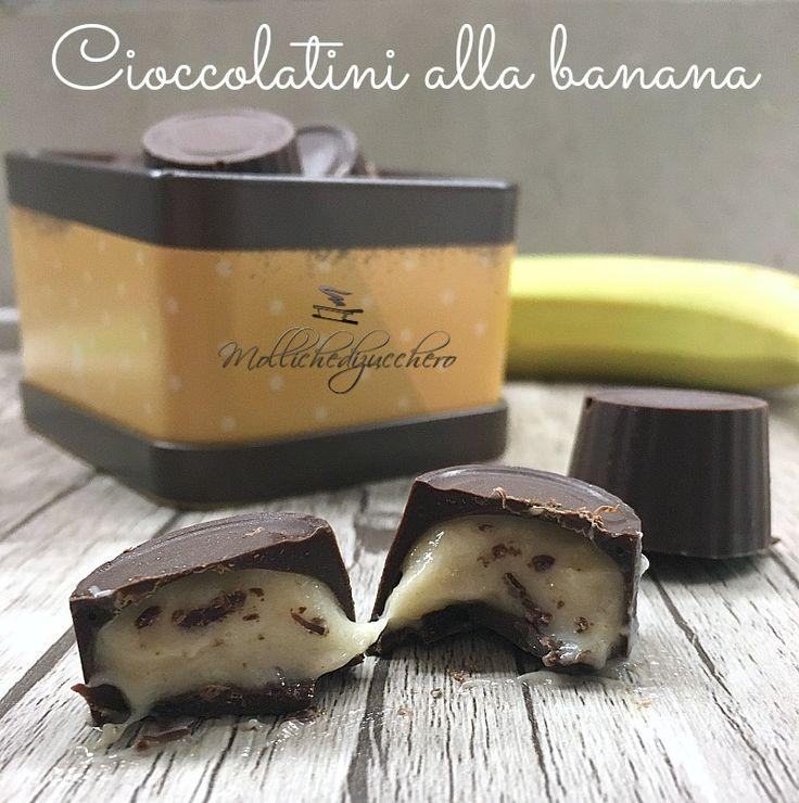 cioccolatini cremosi alla banana