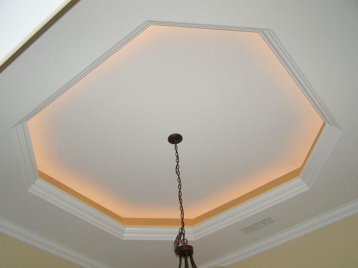 Tray Ceiling Rope Lighting Alluring Saltwater Foyer Tray Ceiling With Rope Lights Lighting Alluring Saltwater C