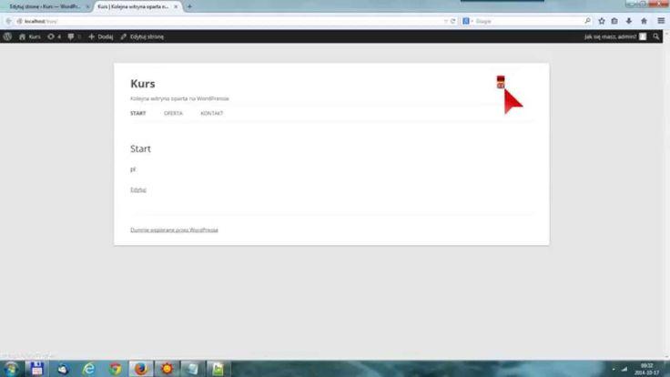 Tworzenie stron internetowych - Wordpress krok po kroku cz. 6
