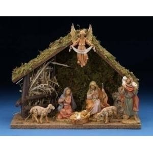 Fontanini Nativity set... A wonderful wedding gift for a young couple!