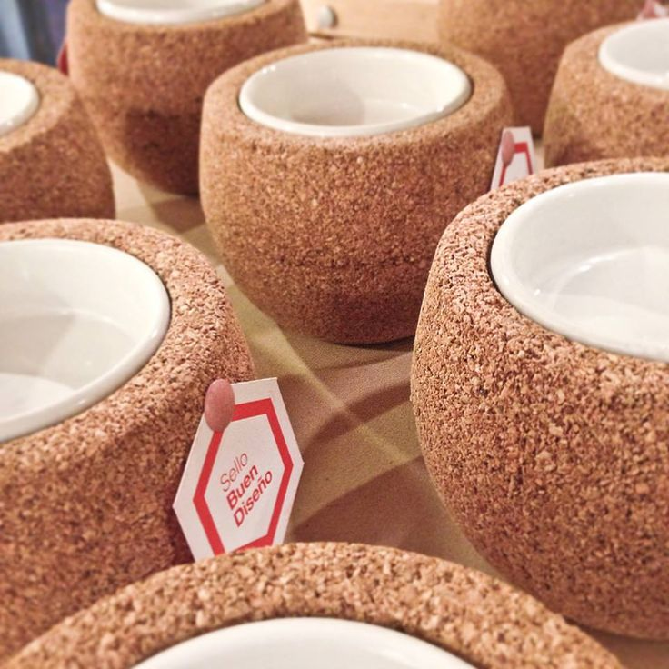 Nuit][ candle sticks by Corchetes® made of cork