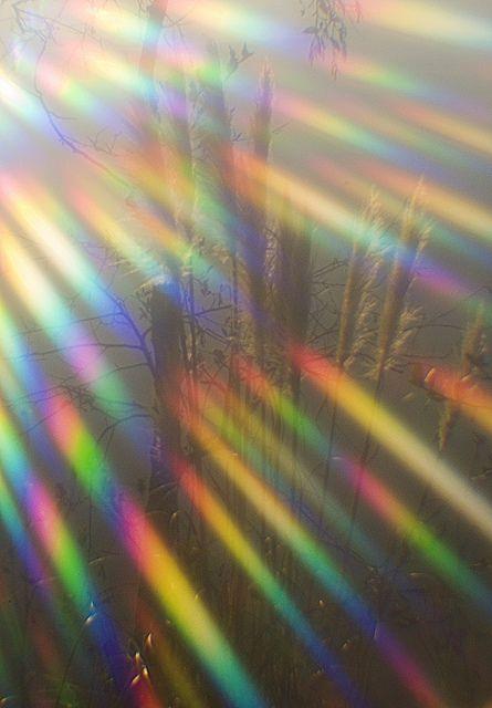 rainbow lens flare
