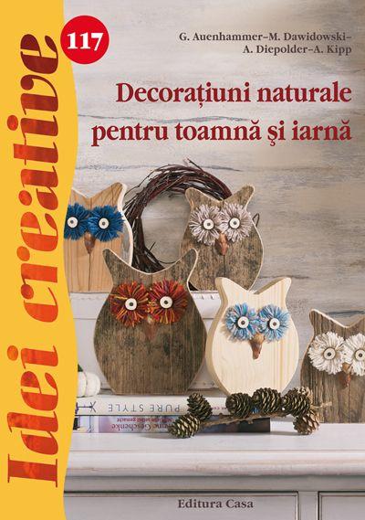 Cartea de față prezintă diverse ornamente de interior pentru sezonul autumnal și hibernal, realizate din materiale naturale.  Iniţiază un mic atelier de creaţie alături de cei mici şi inspiraţi-vă din cartea ,,Decoraţiuni naturale pentru toamnă şi iarnă''. #decoratiuni #ideicreative