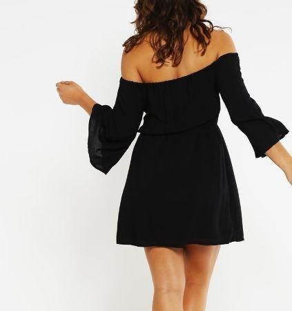 Missguided Plus Size Sukienka letnia black curve