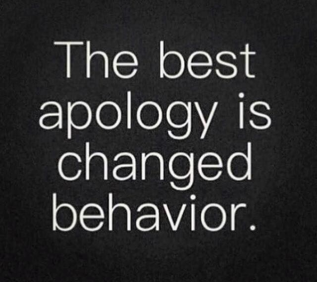 apologizing to an ex quotes relationship