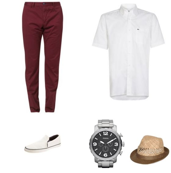 Summer Outfit - #TommyHilfigerTailored #Lacoste #JackJones #RayBan #Selected - Clooy.nl