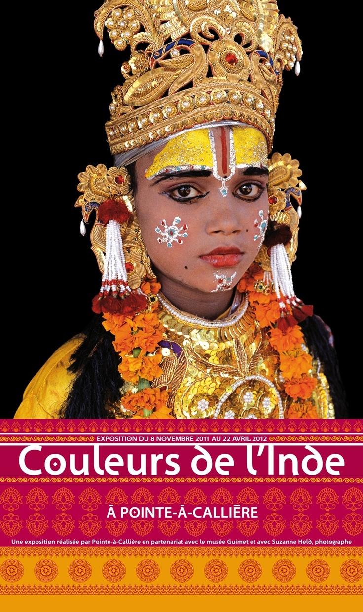 Couleurs de l'Inde, 2011 | © Design: Dominique Boudrias, Pointe-à-Callière