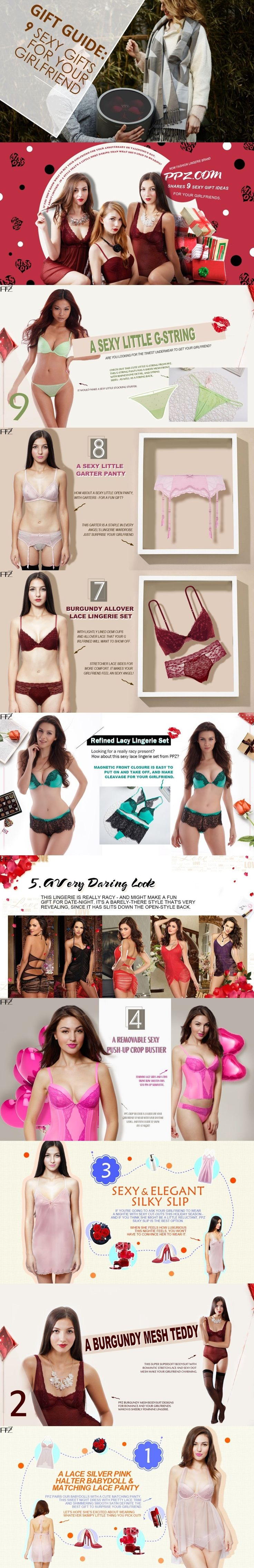 Sexy Gifts For Your Girlfriend