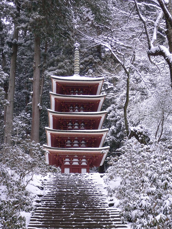 Five-storied Pagoda of Murou-ji temple, Nara