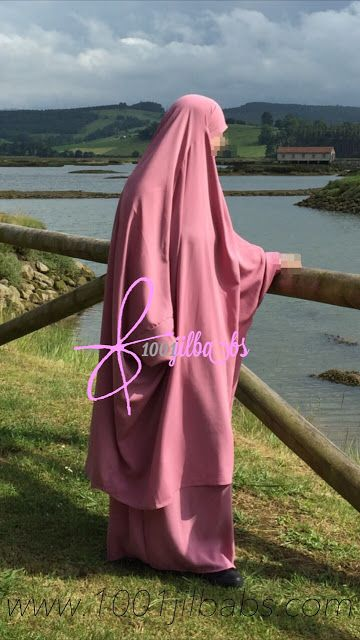 "Mi mundo a través del jilbab : Review: Jilbab Asiya rosa de ""Tasnim Collections"""